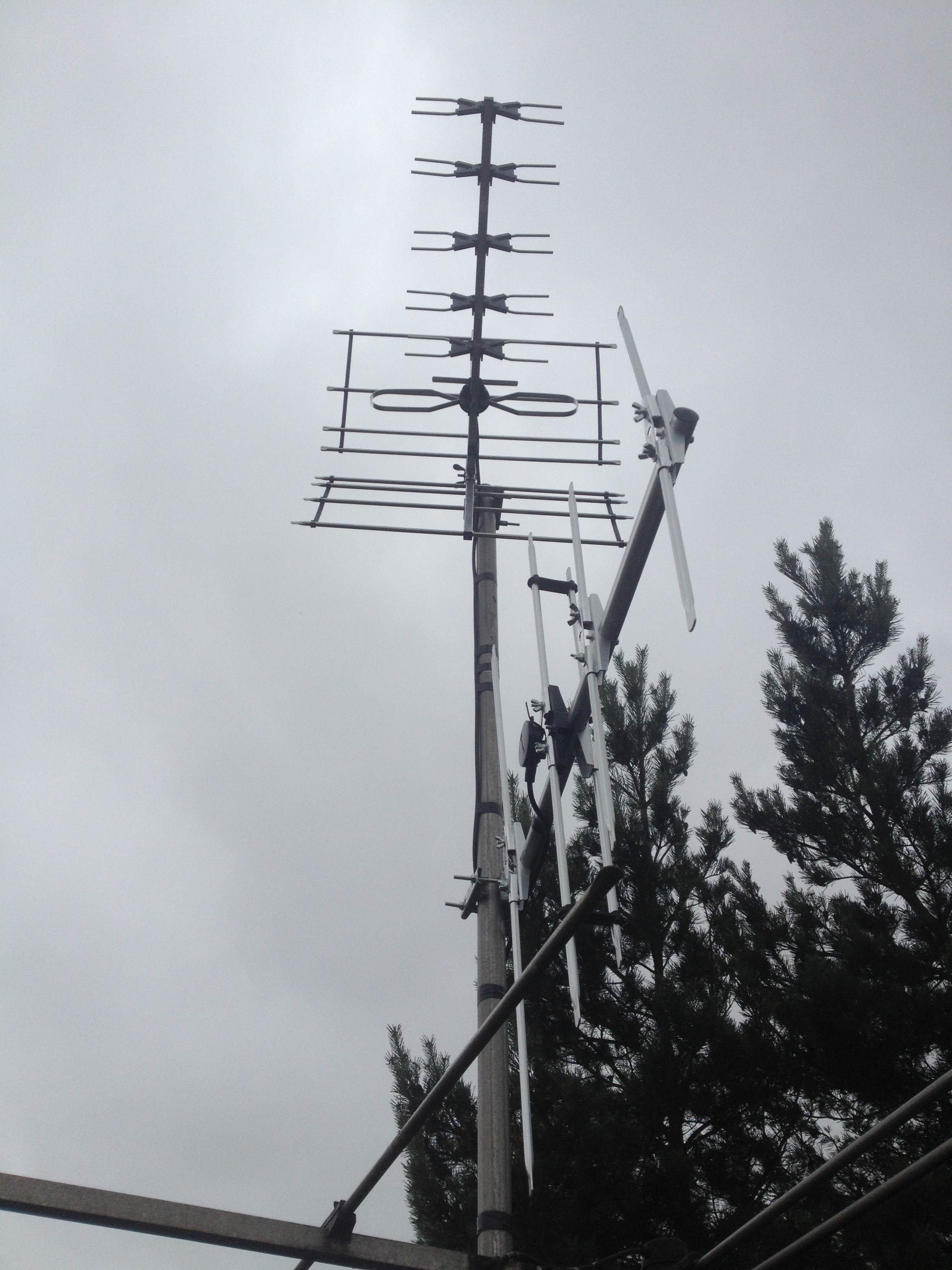 TV aerial and DAB aerial installed in Soulbury, Bedfordshire